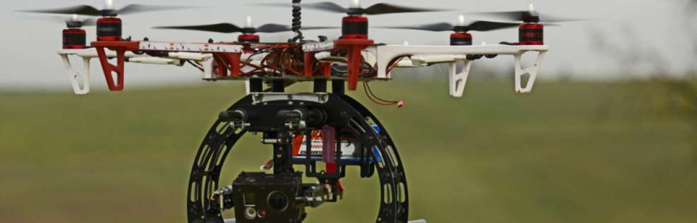 Operater controlled Drone offering high & low level aerial high quality digital images & HD Video